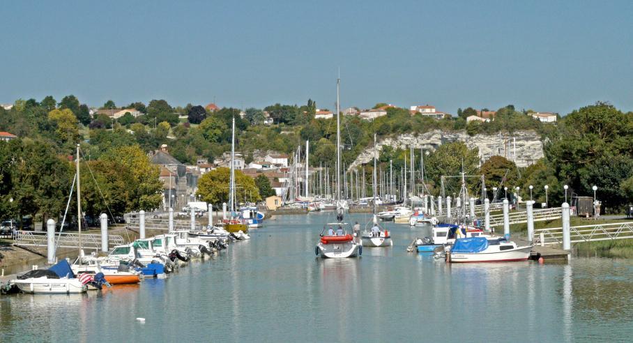 Port du Mortagne sur Gironde