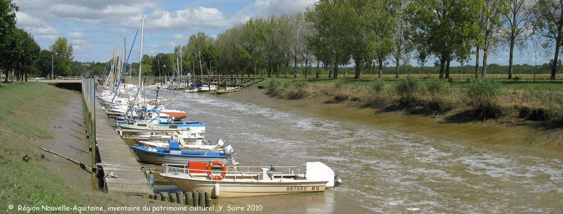 Port Maubert à Saint Fort sur Gironde