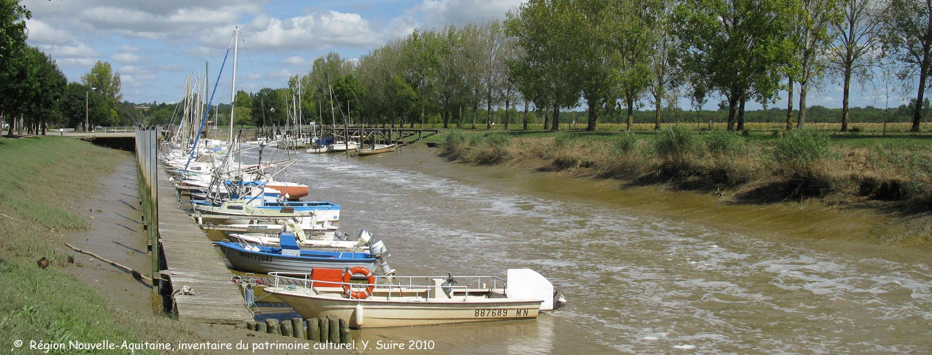 Port Maubert à Saint Fort sur Gironde