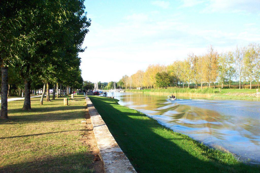Camping Port Maubert dans l'Esturaire de la Gironde