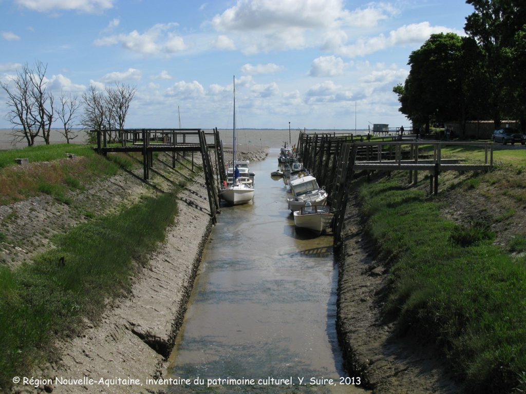 Port de Talmont sur Gironde