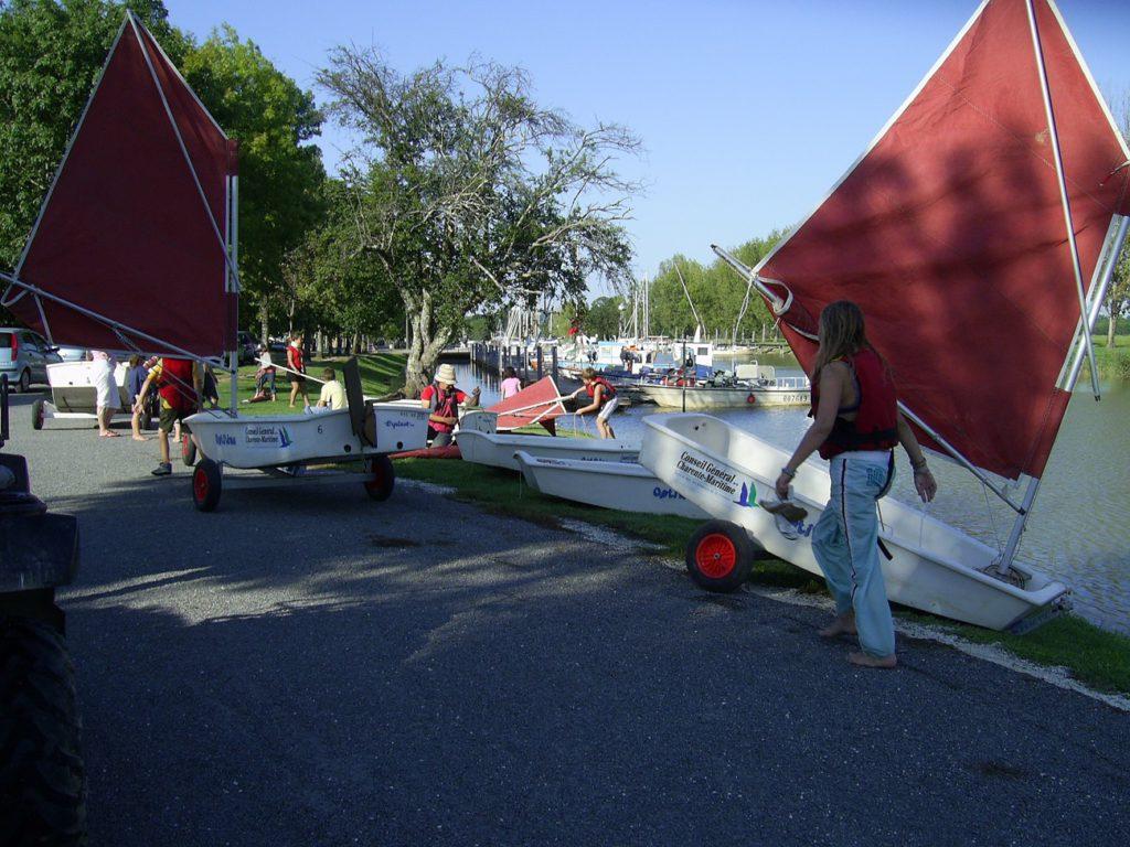 activité en groupe proche camping