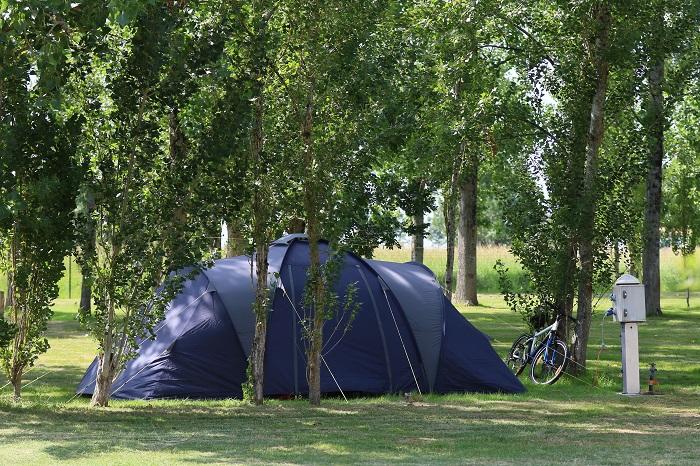 Camping avec emplacement calme et familial