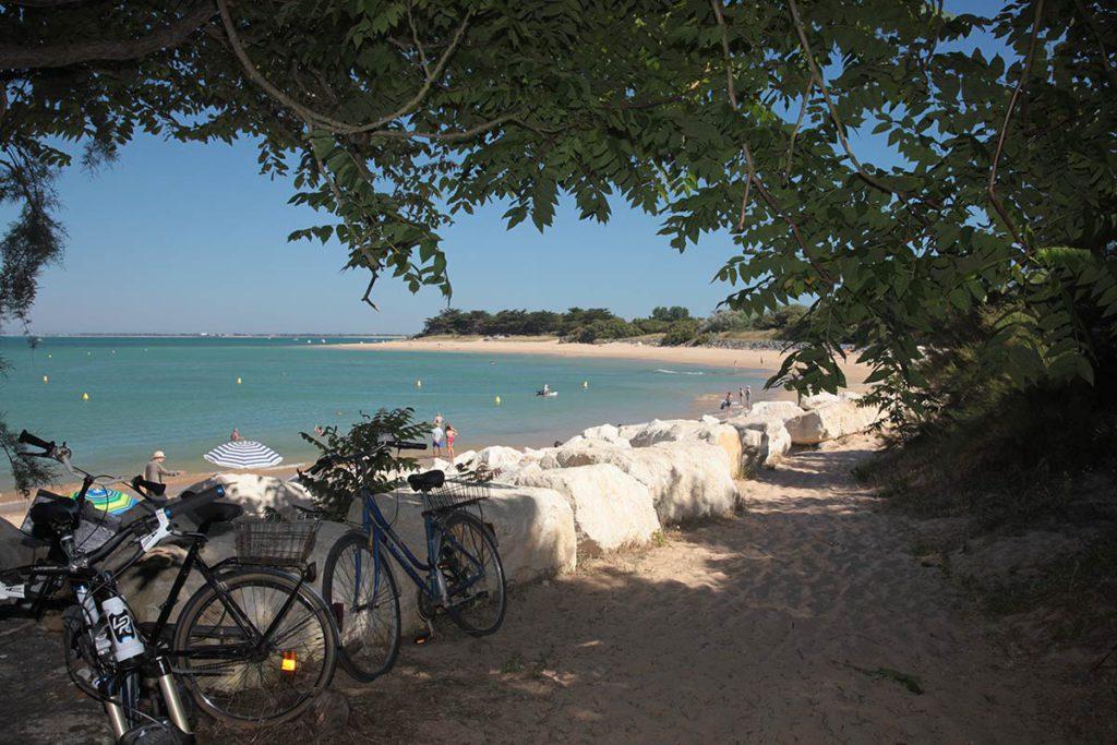 Plage à quelques minutes du camping Port Maubert