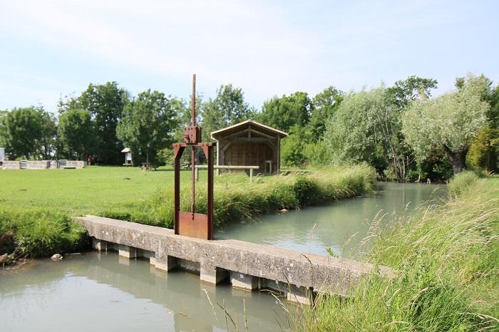 Camping pêche près de Gémozac - Port Maubert