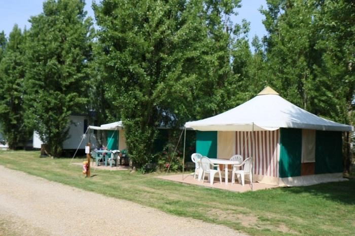 camping calme et familial Corignac