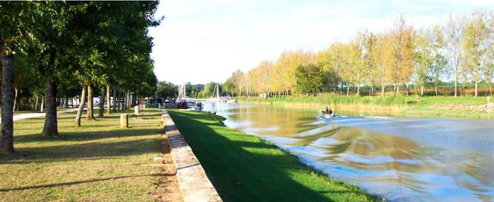 Camping au bord de l'estuaire de la Gironde